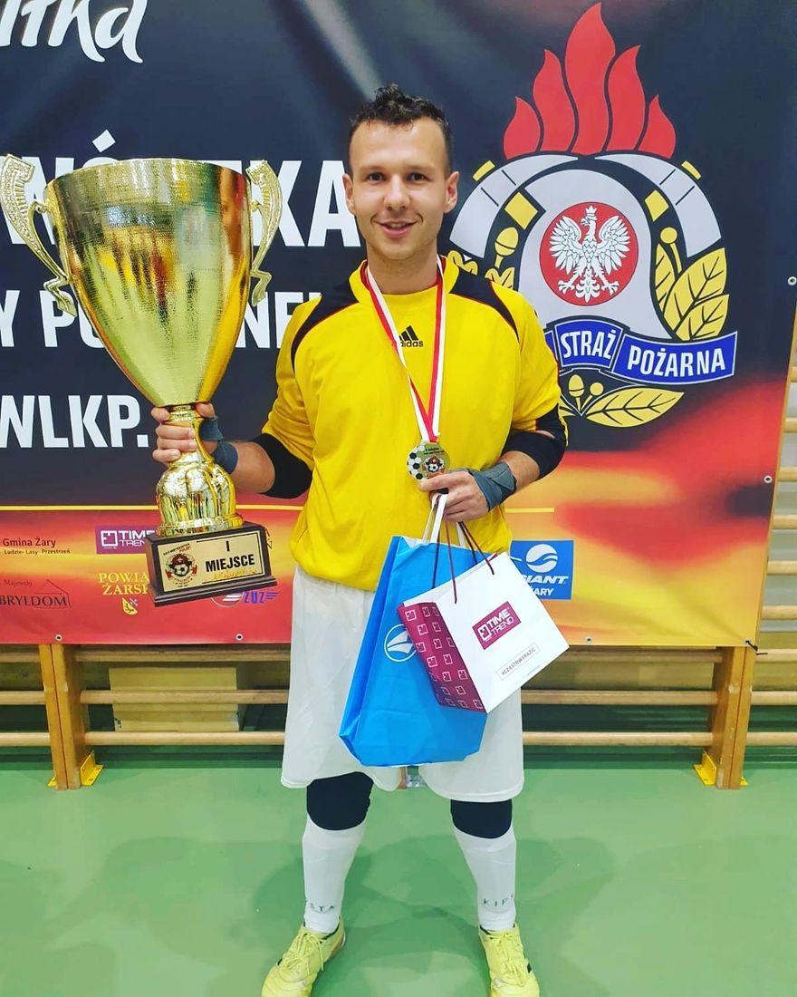 Jelenia Góra: Jeleniogórski strażak mistrzem Polski