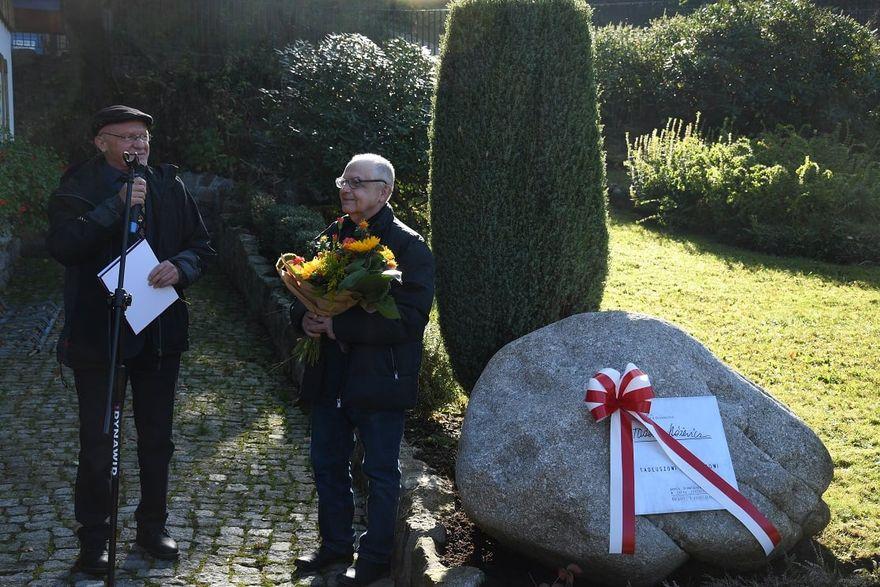 Karpacz: Uczcili setne urodziny Tadeusza Różewicza