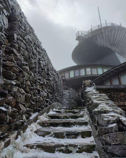 Karkonosze: Atak zimy w Karkonoszach