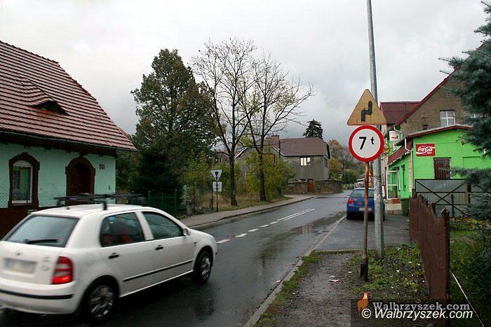 Wałbrzych: Absurd drogowy