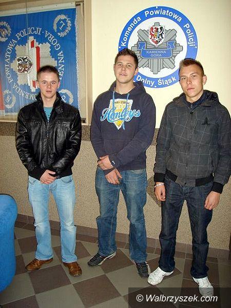 REGION, Kamienna Góra: Trzech młodych bohaterów