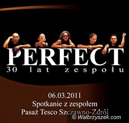 Wałbrzych/REGION: Perfect najpierw w Tesco, później w Świebodzicach