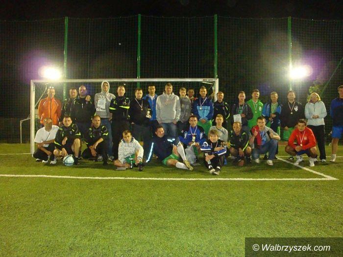 Walim: Nocny turniej piłki nożnej w Walimiu