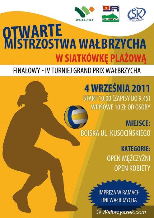 Wałbrzych: Finał Mistrzostw Wałbrzycha w siatkówce plażowej