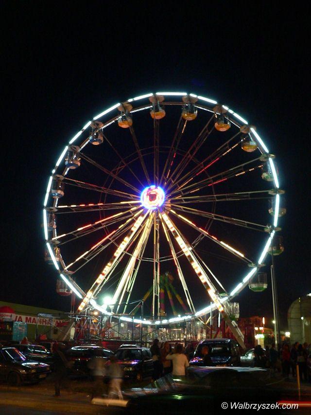 Wałbrzych: Lunapark w Wałbrzychu