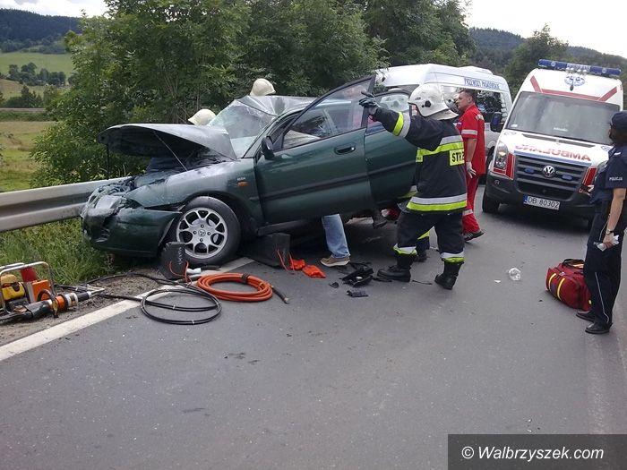 REGION, Boguszów-Gorce: Kilkanaście osób w szpitalu w wyniku wypadku