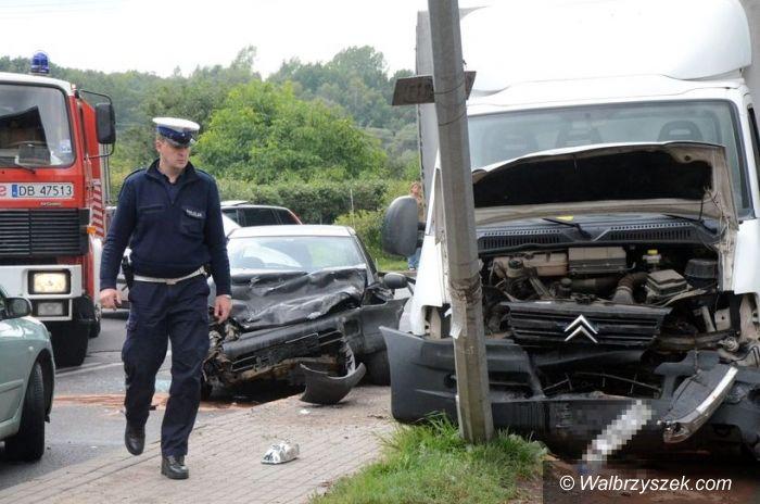 Wałbrzych: Wypadek na Orkana