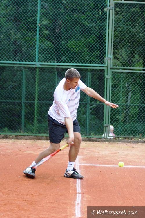 Wałbrzych: Otwarte Mistrzostwa Wałbrzycha w tenisie ziemnym dla Kaczmarczyka i Dzieły