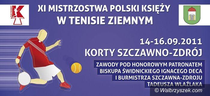Szczawno-Zdrój: Mistrzostwa Polski Księży w Tenisie Ziemnym rozpoczęte