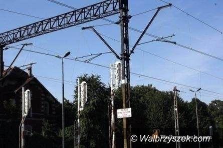 Wałbrzych: Prace na przejeździe kolejowym w Wałbrzychu