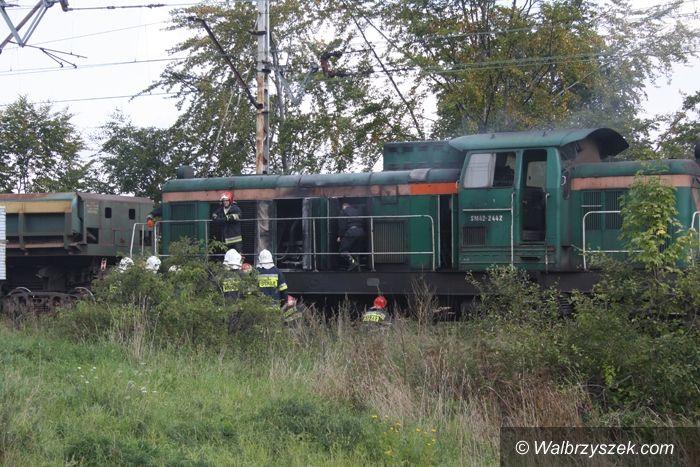 REGION, Boguszów-Gorce: Lokomotywa w ogniu