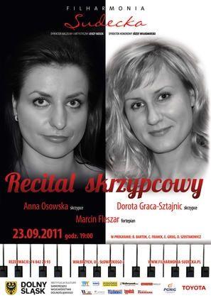 Wałbrzych: Recital skrzypcowy w  Filharmonii Sudeckiej