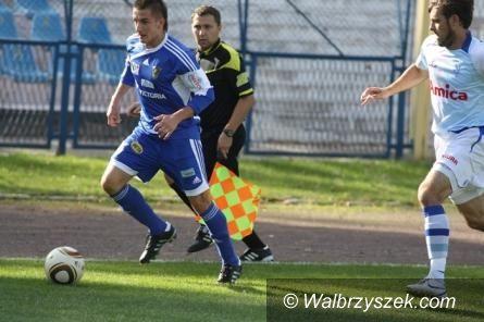 Kluczbork: II liga piłki nożnej: MKS Kluczbork – Górnik Wałbrzych 0–1