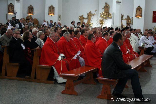 Wałbrzych: Jubileusz Parafii Podwyższenia Krzyża Świętego