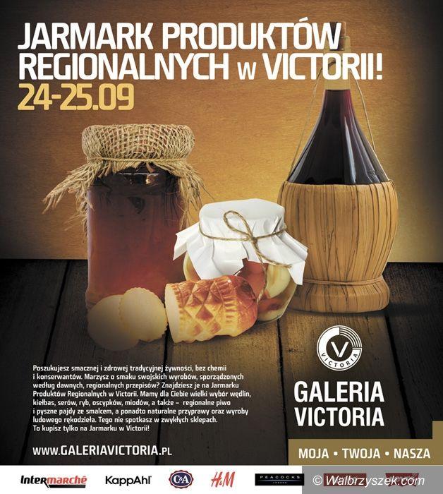 Wałbrzych: Jarmark Produktów Regionalnych w Galerii Victoria