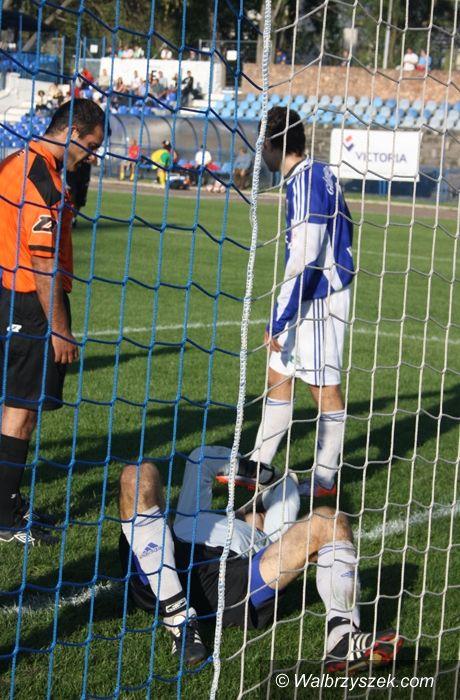 Wałbrzych: II liga piłki nożnej: Górnik Wałbrzych – Tur Turek 2–0