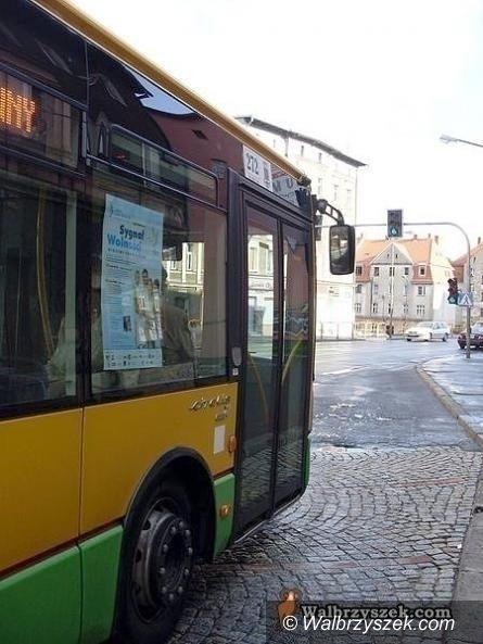 Wałbrzych: Od dziś inaczej jeżdżą autobusy