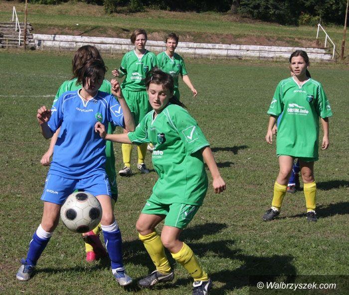Czarny Bór: III liga piłki nożnej kobiet: Lesk Czarny Bór – Gwarek Wałbrzych 0–14