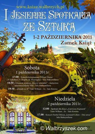 Książ: Kulturalny weekend w zamku Książ
