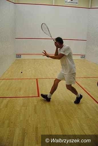 Wałbrzych: Turniej squasha odbył się w Wałbrzychu
