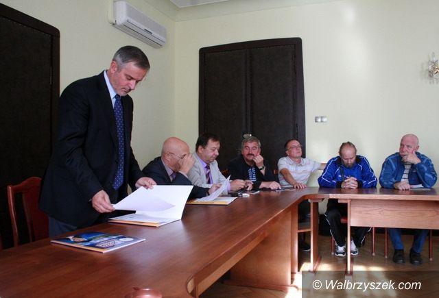 Wałbrzych: Wałbrzyscy siatkarze z wizytą u prezydenta