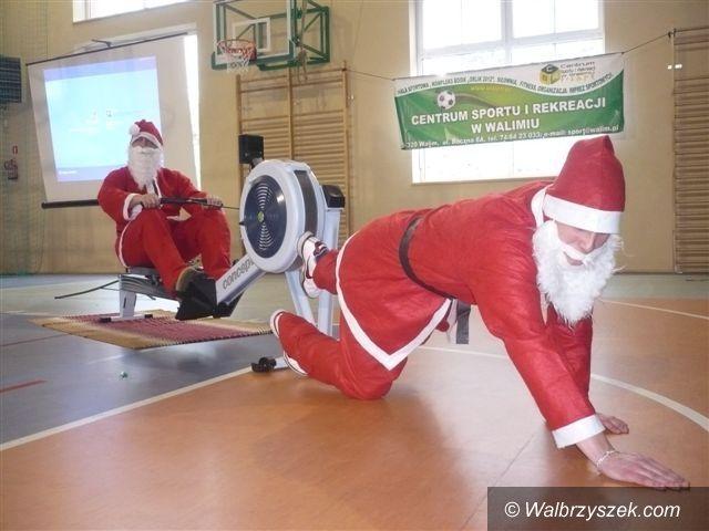REGION, Walim: Mikołaj odwiedził gminę Walim