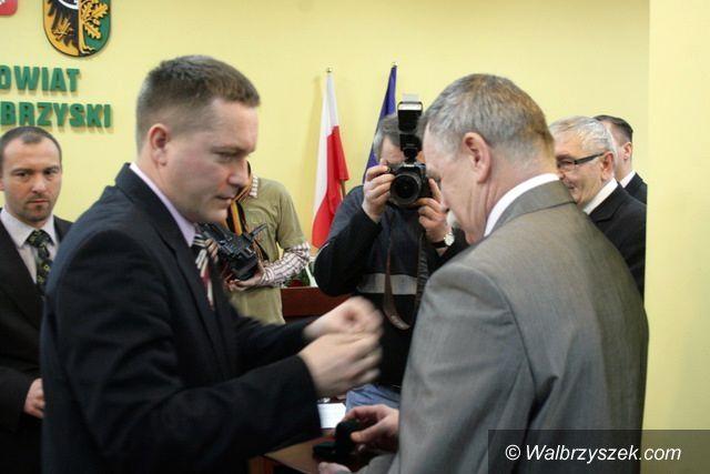 Wałbrzych: Ryszard Kułak zasłużony dla powiatu wałbrzyskiego