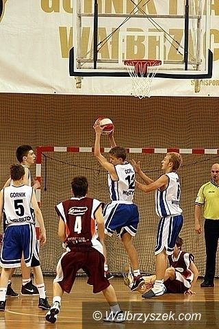 REGION: Koszykarscy juniorzy Górnika przewodzą w słabszej grupie