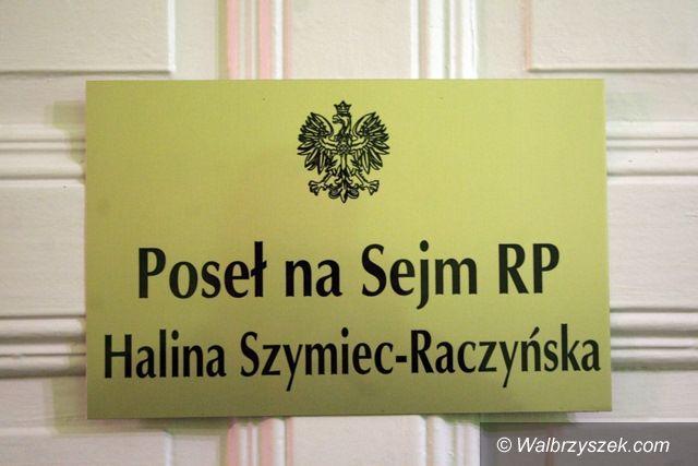Wałbrzych: Halina Szymiec–Raczyńska otworzyła biuro w Wałbrzychu