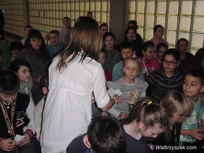 REGION, Głuszyca: O prawach człowieka w szkole