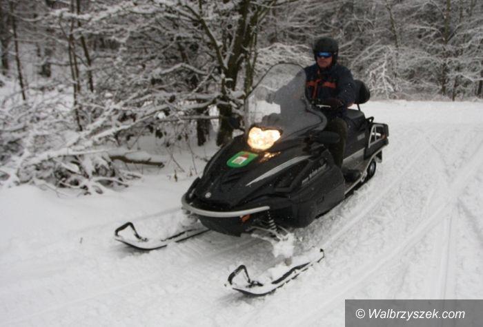 REGION, Szczawno Zdrój: W Szczawnie Zdroju można pojeździć na nartach