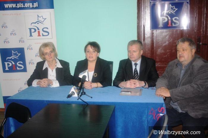Wałbrzych: PiS zagłosuje przeciwko likwidacji szkół