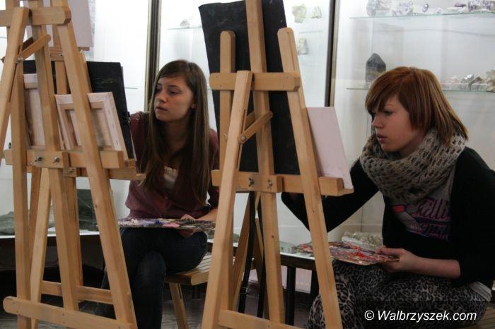 Wałbrzych: Zimowe warsztaty malarskie w Muzeum w Wałbrzychu