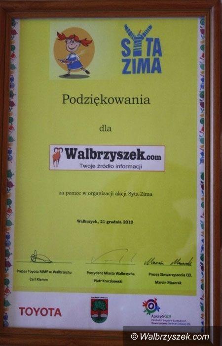 """Wałbrzych: """"Syta Zima"""" dla wałbrzyskich uczniów"""