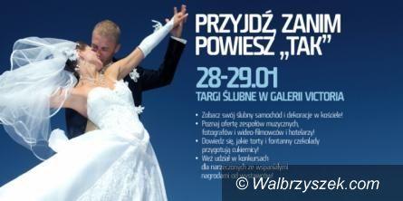 Wałbrzych: Targi Ślubne w Galerii Victoria już jutro