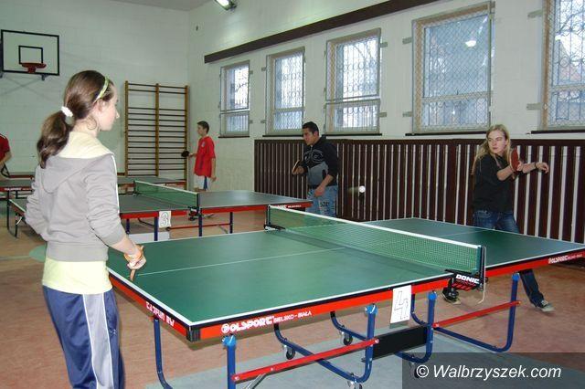 Wałbrzych: Zapraszamy na turniej ping–ponga