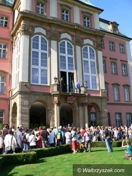 Wałbrzych: Trwa wystawa w Zamku Książ