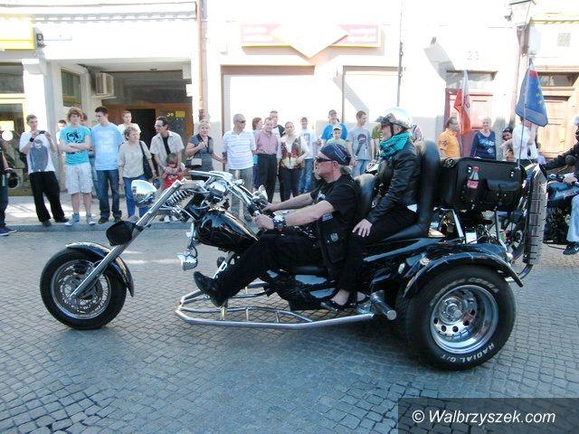 Świebodzice: Harleye i nie tylko, opanowały Rynek w Świebodzicach