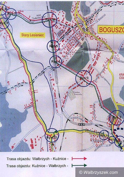 Wałbrzych/Boguszów-Gorce: Ruszył remont wiaduktu. Będą objazdy