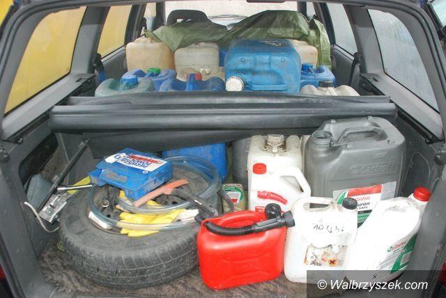 Wałbrzych: Sprawca kradzieży paliwa zatrzymany