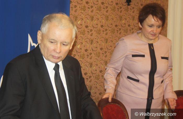 Wałbrzych: Jarosław Kaczyński z wizytą w Wałbrzychu