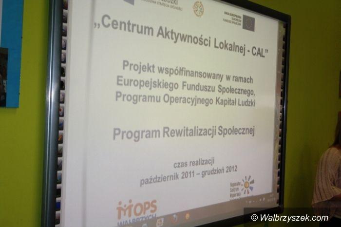 Wałbrzych: Centrum Aktywności Lokalnej podsumowało roczny projekt