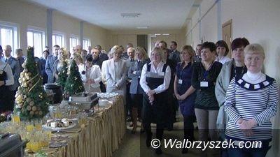 Wałbrzych: Spotkanie wigilijne w Komendzie Miejskiej Policji