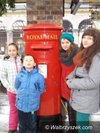 REGION, Walim: Dzieci z Walimia z wizytą w Walii