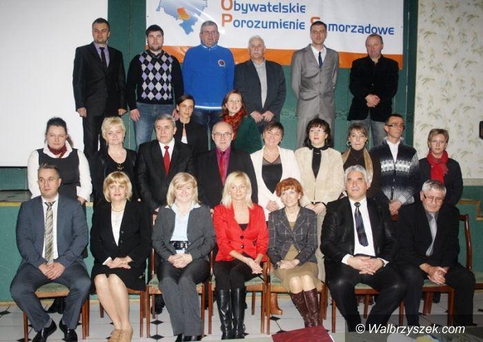 Wałbrzych: Obywatelskie Porozumienie Samorządowe idzie do wyborów z nadzieją