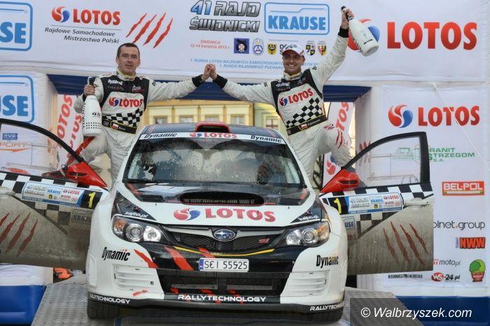 Walim: Zwycięstwo Kajetanowicza i Barana z LOTOS Rally Team w Rajdzie Świdnickim–CZĘŚĆ I
