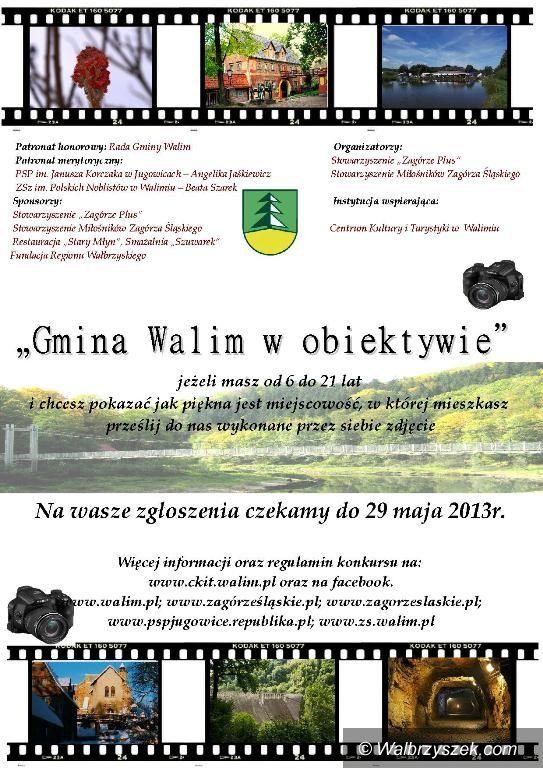 """REGION, Walim: """"Gmina Walim w obiektywie"""" – konkurs fotograficzny dla dzieci i młodzieży"""