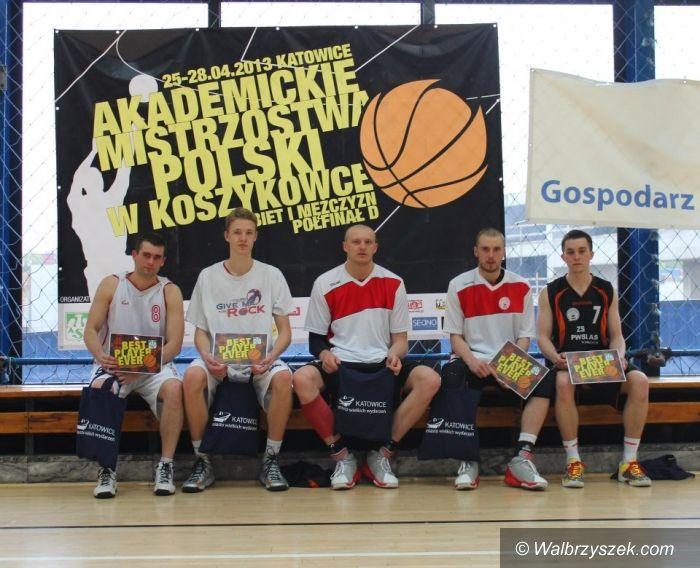 Wałbrzych: Koszykarze PWSZ Wałbrzych wygrali półfinał