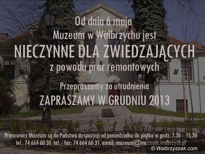 Wałbrzych: W Muzeum rozpoczyna się remont