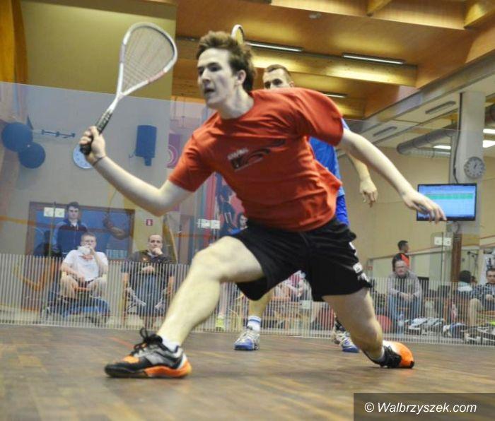 Wrocław: Turniej squasha dla wałbrzyszanina